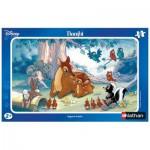 Puzzle  Nathan-86025 Disney: Bambi, tender look