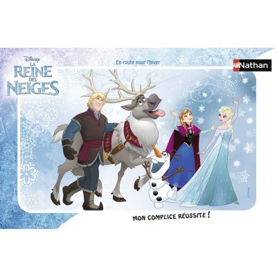 Frame Jigsaw Puzzle Frozen Nathan 86038 15 Pieces Jigsaw