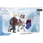 Nathan-86038 Frame Jigsaw Puzzle - Frozen