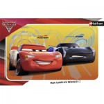 Nathan-86065 Frame Jigsaw Puzzle - Cars 3