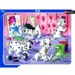Nathan-86091 Jigsaw Puzzle - 35 Pieces - The 101 Dalmatians : Painting is Fun
