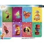 Nathan-86124 Frame Jigsaw Puzzle - Drôles de Petites Bêtes