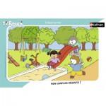 Nathan-86132 Frame Puzzle - Tchoupi