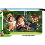 Nathan-86137 Frame Puzzle - Monchhichi