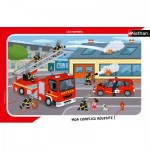 Nathan-86138 Frame Puzzle - Firefighters