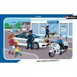 Nathan-86139 Frame Puzzle - The Police
