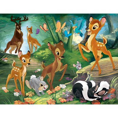 Nathan-86281 Jigsaw Puzzle - 30 Pieces - Bambi : Family Walk