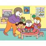 Nathan-86311 Jigsaw Puzzle - 30 Pieces - Charley and Mimmo : At School