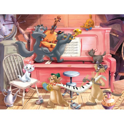 Puzzle Nathan-86316 Concert of Aristochats
