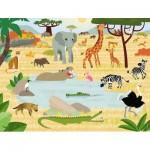 Puzzle  Nathan-86383 Savannah Animals