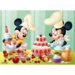 Nathan-86465 Jigsaw Puzzle - 45 Pieces - Mickey : Baking Day