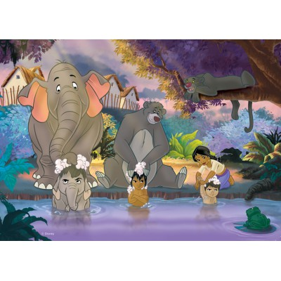 Puzzle Nathan-86492 The jungle's book: The Bath