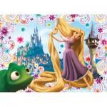 Nathan-86496 Jigsaw Puzzle - 45 Pieces - Rapunzel : Magic Hair