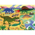 Puzzle  Nathan-86571 XXL Pieces - Dinosaurs