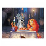 Nathan-86618 Jigsaw Puzzle - 60 Pieces - Lady and the Tramp