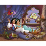 Nathan-86688 Jigsaw Puzzle - 100 Pieces - Aladdin : Love Story