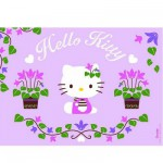 Nathan-86695 Jigsaw Puzzle - 100 Pieces - Hello Kitty Gardens