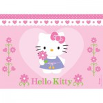 Nathan-86696 Jigsaw Puzzle - 100 Pieces - A Flower for Hello Kitty