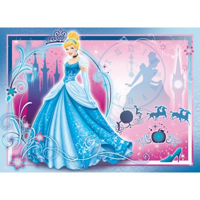 Puzzle Nathan-86709 Cendrillon: A life of Princess