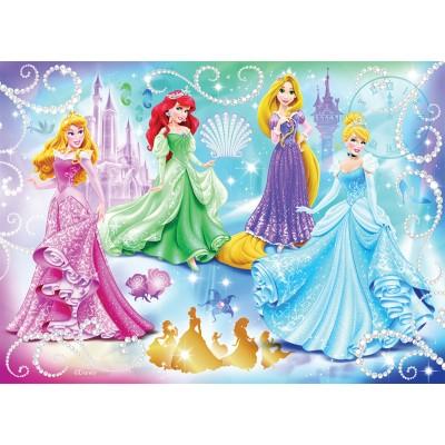 Puzzle Nathan-86720 Disney Princess: Glittering Princesses