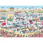 Nathan-86851 Jigsaw Puzzle - 150 Pieces - Maxi - Where's Wally ? : Wally at the Airport