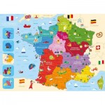 Puzzle  Nathan-86875 Map of France