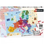 Puzzle  Nathan-86879 Map of Europe