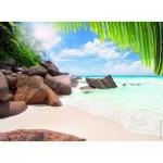 Puzzle  Nathan-87181 Sous le Soleil des Seychelles