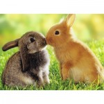 Puzzle  Nathan-87202 Rabbit Kisses