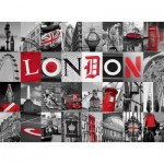 Nathan-87210 Jigsaw Puzzle - 500 Pieces - Memories of London