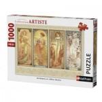 Puzzle  Nathan-87470 Alfons Mucha