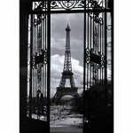 Nathan-87570 Jigsaw Puzzle - 1000 Pieces - Eiffel Tower, Paris