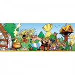 Nathan-87601 Jigsaw Puzzle - 1000 Pieces - Panoramic - Asterix and Obelix : As Strong as Asterix