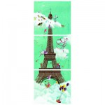 Puzzle  Nathan-87612 Marie-Anne Foucart: Eiffel Tower