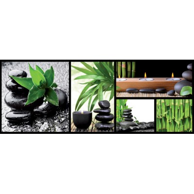 Nathan-87634 Jigsaw Puzzle - 1000 Pieces - Panoramic - Zen Composition