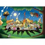 Nathan-87737 Jigsaw Puzzle - 1500 Pieces - Asterix and Obelix : The Banquet