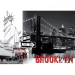 Nathan-87738 Jigsaw Puzzle - 1500 Pieces - New York : Brooklyn Bridge