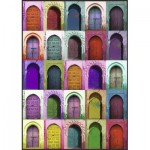 Puzzle  Nathan-87783 Colorful Doors