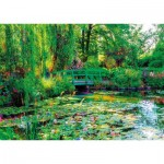 Puzzle  Nathan-87800 The Gardens of Claude Monet, Giverny