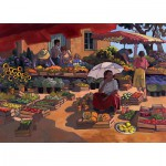 Nathan-87859 Jigsaw Puzzle - 2000 Pieces - Women at the Market