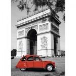 Puzzle   Citroën 2 CV in Paris