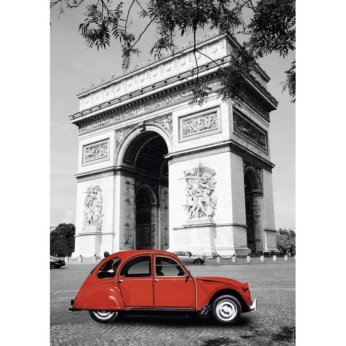 Citroën 2 CV in Paris Puzzle 1500 pieces