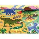 Puzzle   XXL Pieces - Dinosaurs