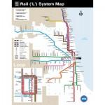 Puzzle   Chicago Transit Map Mini