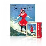 Puzzle   Sunset - Surfer Girl Mini