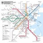 Puzzle   XXL Pieces - Boston Transit Boston T