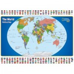 Puzzle   XXL Pieces - National Geographic - The World Kids Map