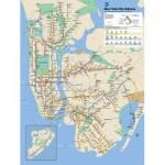 Puzzle   XXL Pieces - New York Subway Map