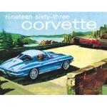 Puzzle  New-York-Puzzle-GM1702 1963 Corvette Mini