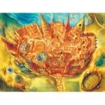 Puzzle  New-York-Puzzle-HP1360 XXL Pieces - Harry Potter - Hogwarts